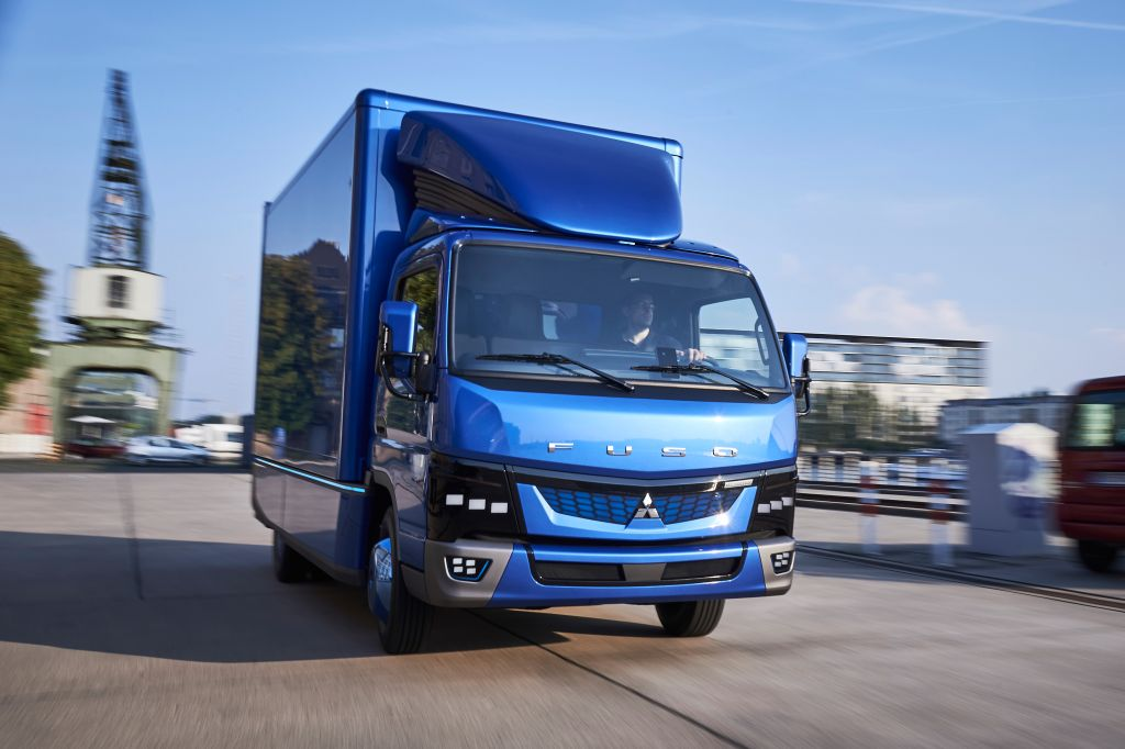Fuso Choose Australia To Trial World U2019s First Electric Light Truck
